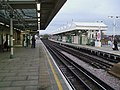 Putney Bridge stn through eastbound look north.JPG