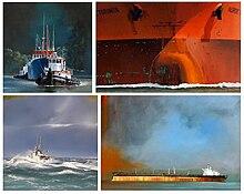 Quatre tableaux de Dirk Verdoorn : L'arrivée (2007) - Torinita (2005