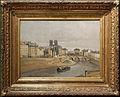 Quai des Orfèvres et pont Saint-Michel by Jean-Baptiste Corot (Carnavalet P 1378) 01.jpg