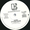 """Queen – Staying Power (vinyl 12"""" promo single, USA, 1982).png"""