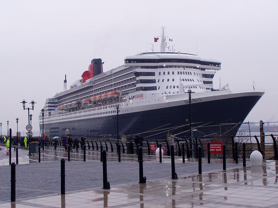 Queen Mary II at Liverpool 1