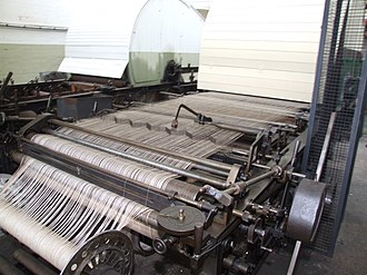 Weaving shed - Image: Queen Street Mill Sizing 5372