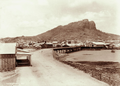 Queensland State Archives 2419 Castle Hill from across Ross River Townsville 1897.png