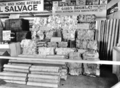 Queensland State Archives 2950 Salvage display at the Royal National Exhibition Brisbane August 1941.png