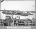 Queensland State Archives 3693 View looking south from north anchor pier timbering of excavation in foreground Brisbane 1 September 1936.png