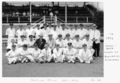Queensland State Archives 6328 Public Service Commissioners Department Combined Cricket Teams Queensland and New South Wales January 1959.png