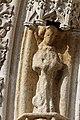 Quimper - Cathédrale Saint-Corentin - Statue des Voussures du portail - PA00090326 - 0012.jpg