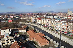 Podujevo city center