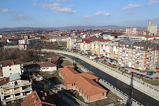City and Municipality in District of Pristina, Kosovo