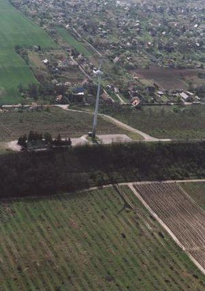 Rácalmás - Aerial view