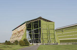 Grade II* listed buildings in Bedfordshire - Image: RAF Cardington Shed 01