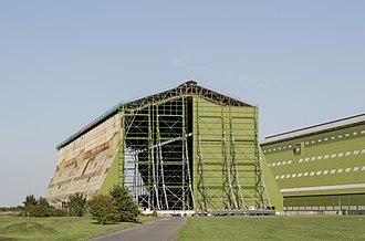 Grade II* listed buildings in Bedfordshire - Image: RAF Cardington Shed 01