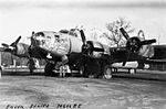 RAF Thurleigh - 306th Bombardment Group - B-17 Flying Fortress Eager Beaver.jpg