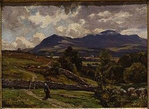 Herbert Hughes-Stanton - Cader Idris, North Wales (1918)