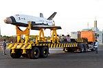 RLV-TD HEX01, TDV being transported.jpg