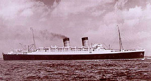 RMS Mauretania (1938) - RMS Mauretania, 1938