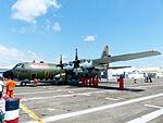 ROCAF C-130H 1315 Display at Tainan Air Force Base Apron 20130810.jpg