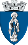 Coat of arms of Popești-Leordeni