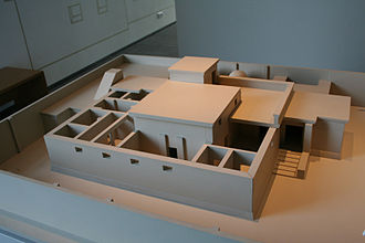 Windcatcher - Model of an Ancient Egyptian house with windcatcher, Roemer- und Pelizaeus-Museum Hildesheim