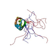 The second RNA recognition motif (RRM) domain of the protein ASF/SF2