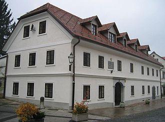 Kamnik - Image: R Maister Birthhouse Kamnik Slovenia