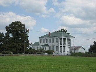 Raceland, Louisiana - A house in Raceland.