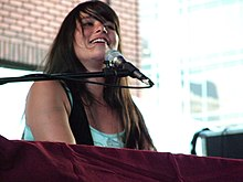 Rachael Yamagata on stage in 2008