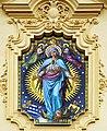 Rajhrad, kostel sv. Petra a Pavla, mozaika Panny Marie.jpg