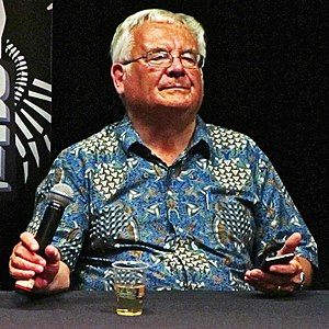 Ramsey Campbell - Campbell at the 2015 Liverpool Horror Festival.