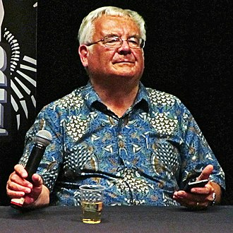 Ramsey Campbell - Campbell at the 2015 Liverpool Horror Festival