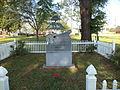 Randolph County Veterans Memorial Park, Boudeleaux and Felice Bryant marker.JPG