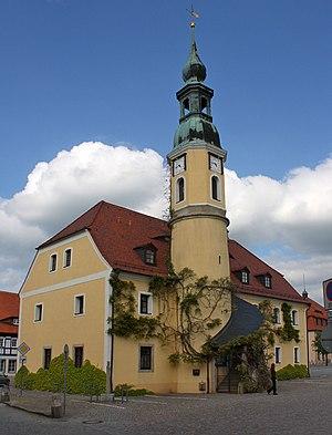 Weißenberg - Town hall in Weißenberg