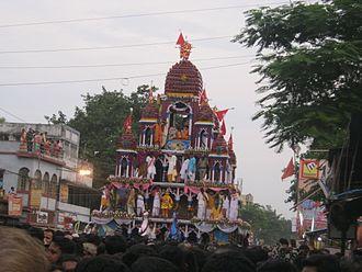 Rathayatra of Mahesh - Rathayatra of Mahesh in 2016