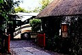 Rathbaun Farm - Brendan bus and cottage at entrance - geograph.org.uk - 1632113.jpg