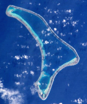 Ravahere - NASA picture of Ravahere Atoll