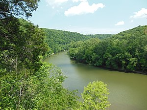 Kentucky River - The Kentucky River Palisades at Raven Run Park