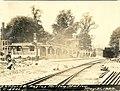 Razing Milton station, May 1929.jpg