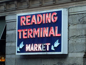 Reading Terminal - Reading Terminal Market sign