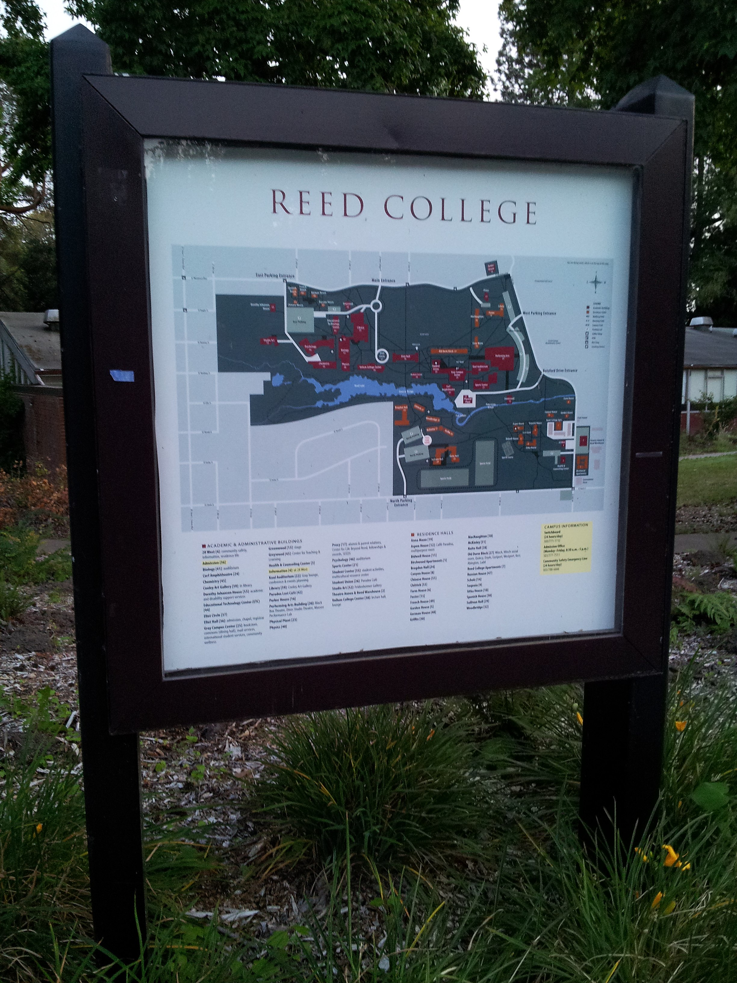 File Reed College Campus Map 2015 Jpg Wikimedia Commons