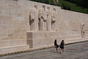 Henri Bouchard - The Reformation Wall in Geneva