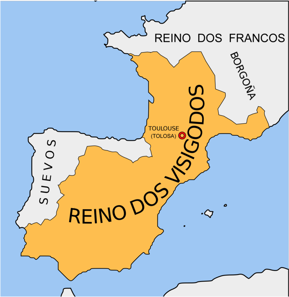 Reino de los visigodos-gl