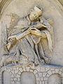 Relief Johannes Nepomuk an der Pest-Dreifaltigkeitssäule in Zwettl.jpg