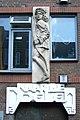 Relief Naar de Doelen Boogschutter Smedenstraat Deventer.JPG