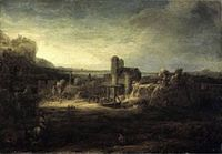 Rembrandt - Landscape with church.jpg