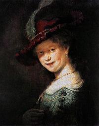 Rembrandt - Portrait of the Young Saskia - WGA19172.jpg