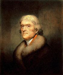 Rembrandt Peale: Thomas Jefferson