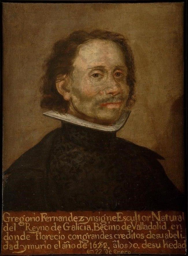 Retrato de Gregorio Fernandez