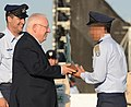 Reuven Rivlin, gave the flight wings to an outstanding combat pilot (4997).JPG