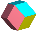 Rhombic dodecahedron 4color.png
