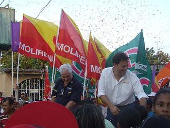 Ricardo martinelli junto a juancarlosvarela